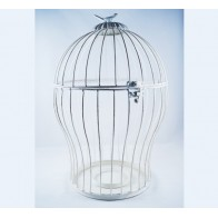 Decorative Cage With a Bird