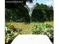 Martini formos stiklinė vaza