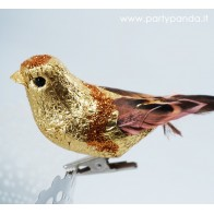 Golden Decorative Bird