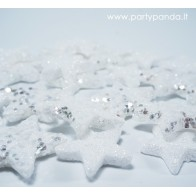 Blink Decorations - Stars, Silver Colored