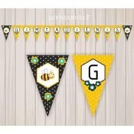 "Birthday Garland ""Bees"""