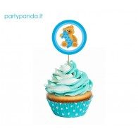 Birthday Cupcake Pins With a Bear