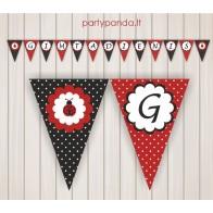 "Birthday Garland ""Ladybug"""