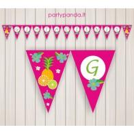 "Birthday Garland ""Tropics"""