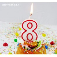 """Birthday Candle """"Number 8"""""""