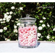 Decorative Glass Jar With a Lid