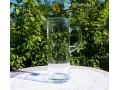 Pailgas stiklinis ąsotis