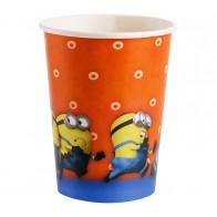 """Vienkartiniai popieriniai puodeliai """"Pakalikai/Pimpačkiukai"""" (8 vnt./266 ml)"""