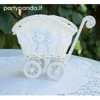 Stalo dekoracija - vežimėlis