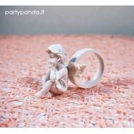 Servetėlių žiedai su angelu