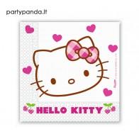 """Vienkartinės popierinės servetėlės """"Hello Kitty"""" (20 vnt.)"""