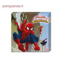 """Vienkartinės popierinės servetėlės """"Žmogus voras/Spiderman"""" (20 vnt.)"""