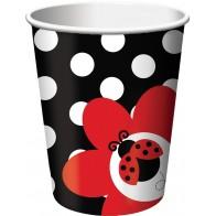 """Peporeiniai puodeliai """"Boružėlė"""" (8 vnt./266 ml)"""