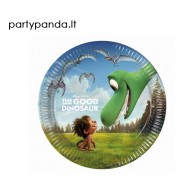 """Popierinės lėkštutės """"Gerasis dinozauras/The Good Dinosaur"""" (8 vnt./19,5 cm)"""