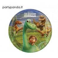"""Popierinės lėkštutės """"Gerasis dinozauras/The Good Dinosaur"""" (8 vnt./23 cm)"""