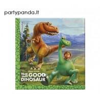 """Vienkartinės popierinės servetėlės """"Gerasis dinozauras/The Good Dinosaur"""" (20 vnt./33x33 cm)"""