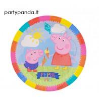 """Popierinės lėkštutės """"Peppa Pig"""" (8 vnt./23 cm)"""
