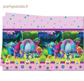 """Plastikinė staltiesė """"Troliai"""", 120x180 cm"""