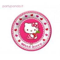 """Popierinės lėkštutės Hello Kitty"""" (8 vnt./23 cm)"""