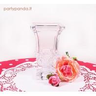 Elegantiška stiklinė vaza, maža