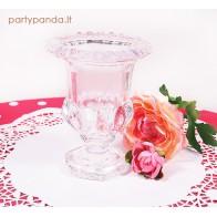 Elegantiška prabangi stiklinė vaza, maža