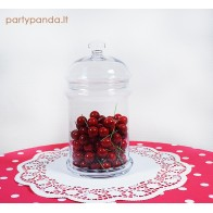 Glass Jar With a Lid for a Candy