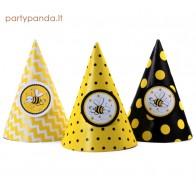 "Birthday Cap ""Bees"", 6 pcs"