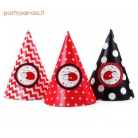 "Birthday Cap ""Ladybug"", 6 pcs"
