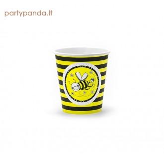 """Popieriniai puodeliai """"Bitutė""""(6 vnt./200 ml)"""