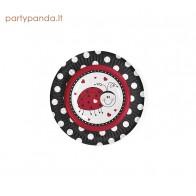"""Paper plate """"Ladybug"""", (6 vnt./18 cm)"""