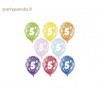Colourful metallic balloon 5
