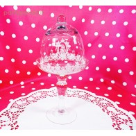 Provence style glass for cupcakes