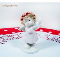 Baby pink angel statue