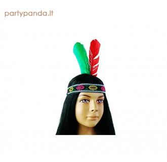 Galvos juosta su indėniška plunksna