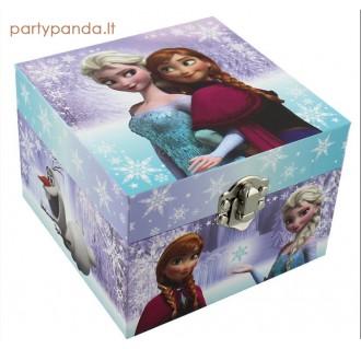 """Muzikinė papuošalų dėžutė """"Frozen/Ledo šalis"""""""