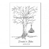 """Vestuvių svečių medis """"Narvelis"""""""