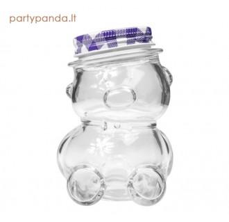 """Stiklainis """"Meškiukas"""", 150 ml, violetinis"""