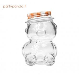 """Stiklainis """"Meškiukas"""", 150 ml, oranžinis"""