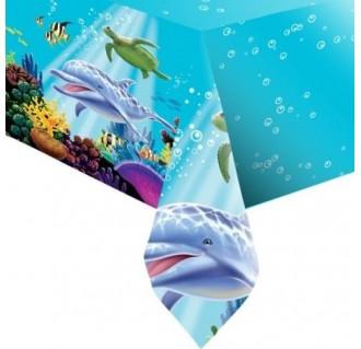 "Staltiesė ""Vandenyno paslaptys"" (137x274 cm)"