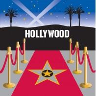 """Vienkartinės popierinės servetėlės """"Holivudas"""" (16 vnt.)"""