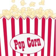 """Vienkartinės popierinės servetėlės """"Pop-corn"""" (16 vnt.)"""