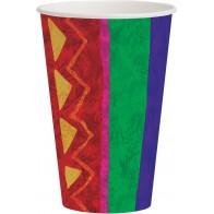 """Popieriniai puodeliai """"Fiesta Meksikoje"""" (8 vnt./355 ml)"""