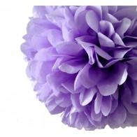 """Popierinė dekoracija-burbulas """"Pom Poms"""", violetinis 30 cm"""