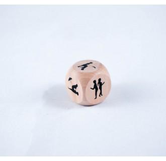 Žaidimų kauliukas su sekso pozomis