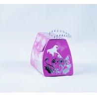 Dovanų dėžutė - rankinė, violetinė