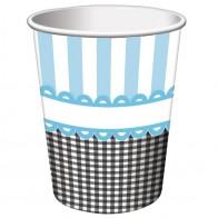"""Popieriniai puodeliai """"Mažylio pėdutės"""" (8 vnt./266 ml)"""
