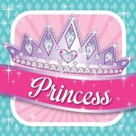 """Popierinės servetėlės """"Princesės puota"""" (16 vnt.)"""